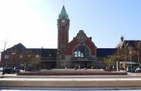 Das Bahnhofsgebäude von Colmar