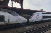 Zwei TGV Garnituren unterschiedlicher Generation