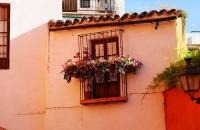 Kleiner Balkon im Viertel Santa Cruz