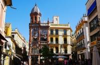 Häuser im Zentrum von Sevilla