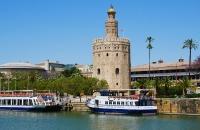 Der goldenen Turm in Sevilla