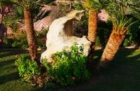 Gebilde im Garten des Ferienhauses