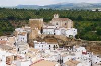 Blick auf Setenil De Las Bodegas