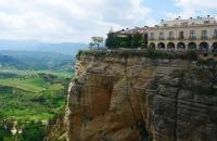 Blick auf Ronda und die Umgebung