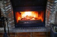 Heimeligkeit durch das Kaminfeuer in unserem Ferienhaus