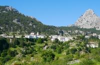 Blick auf den Ort Grazalema