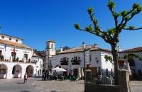 Hauptplatz von Grazalema