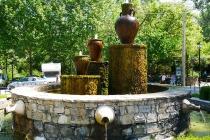 Brunnen am Ausgangspunkt unserer Wanderung
