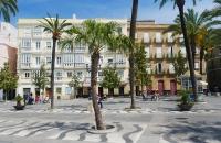 Platz in Cádiz
