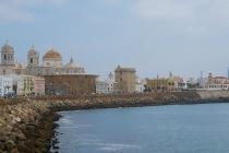 Blick Richtung Kathedrale von Cádiz