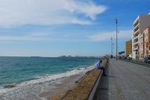 Am Strand von Cádiz