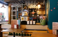 In der Tapas-Bar wo ich mit Hans speiste