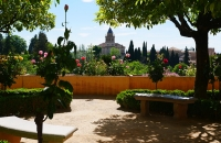 In der Gartenanlage von Generalife