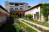 In den Gärten von Generalife