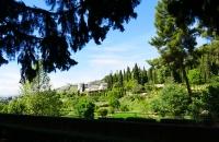 Blick auf den Generalife-Garten