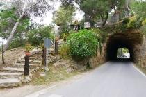 Tunnel unter Restaurant El Mirador