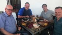 Leztes, gemeinsames Abendesse im Los Bandoleros