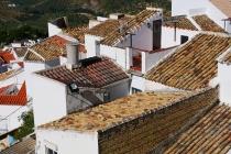 Häuserdächer in Olvera