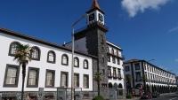 Alte Gebäude in Ponta Delgada