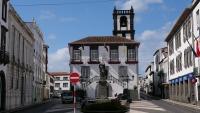 Altes Gebäude im Zentrum von Ponta Delgada