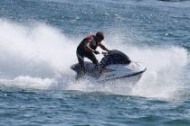 Jet-Ski-Fahrer in Action