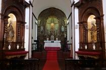 Im Inneren einer Kapelle im Jardim Botanico