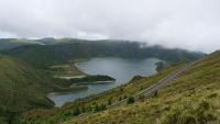 Blick auf den Lagoa do Fogo