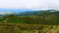 Sehr grüne und abwechslungsreiche Landschaft