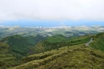Blick Richtung Südküste von Sao Miguel