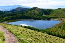 Blick auf den Lagoa Rasa