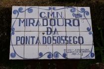Gartenanlage Miradouro da Ponta do Sossego