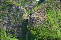Schöner,  hoher Wasserfall