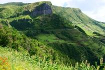 Landschaft nahe Faja Grande