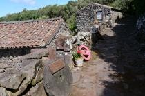 Alte Steinhäuser in Cuada
