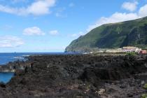 Landschaft in Faja Grande
