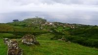 Blick auf Ponta Delgada und das Meer