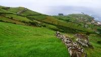 Straße nach Ponta Delgada