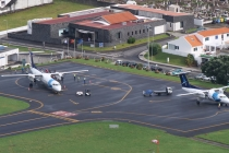 Volle Auslastung am Flughafen Santa Cruz