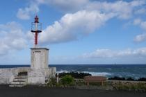 Kleiner Leuchtturm in Fajã Grande