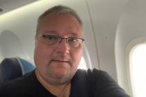 Selfie im Flugzeug nach Pico