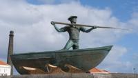 Statue eines Walfängers