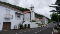 Straßenbild im kleinen Ort Pontas Negras