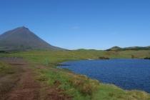 Der Lagoa do Capitão und Pico heute erst auch ohne Wolken
