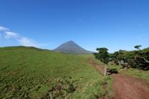 Karge aber interessante Landschaft in der Hochebene Pico's