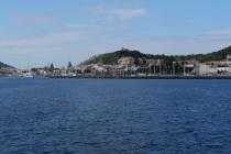 Der Hafen von Horta ist erreicht