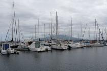 Yachten im Hafen von Horta