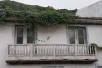 Alter Balkon in Lajes
