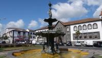 Springbrunnen im Zentrum von Ponta Delgada