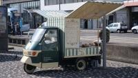 Mobiler Kuchen- und Gebäcksstand in Ponta Delgada