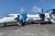 Diese Dash 8 Q400 brachte mich nach Ponta Delgada